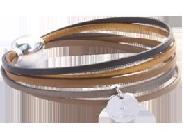 Bracelet multiliens mini Chocolat noir