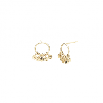 Boucles d'oreilles Joy, Magic, Believe