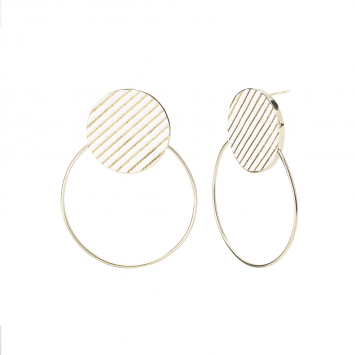 Boucles d'oreilles Andy Swing Coral