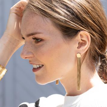 Boucles d'oreilles Angele