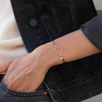 Bracelet Anja Taupe Sparkling
