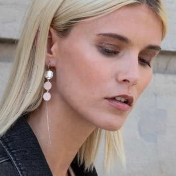 Boucles d'oreilles Esmeralda Ashley
