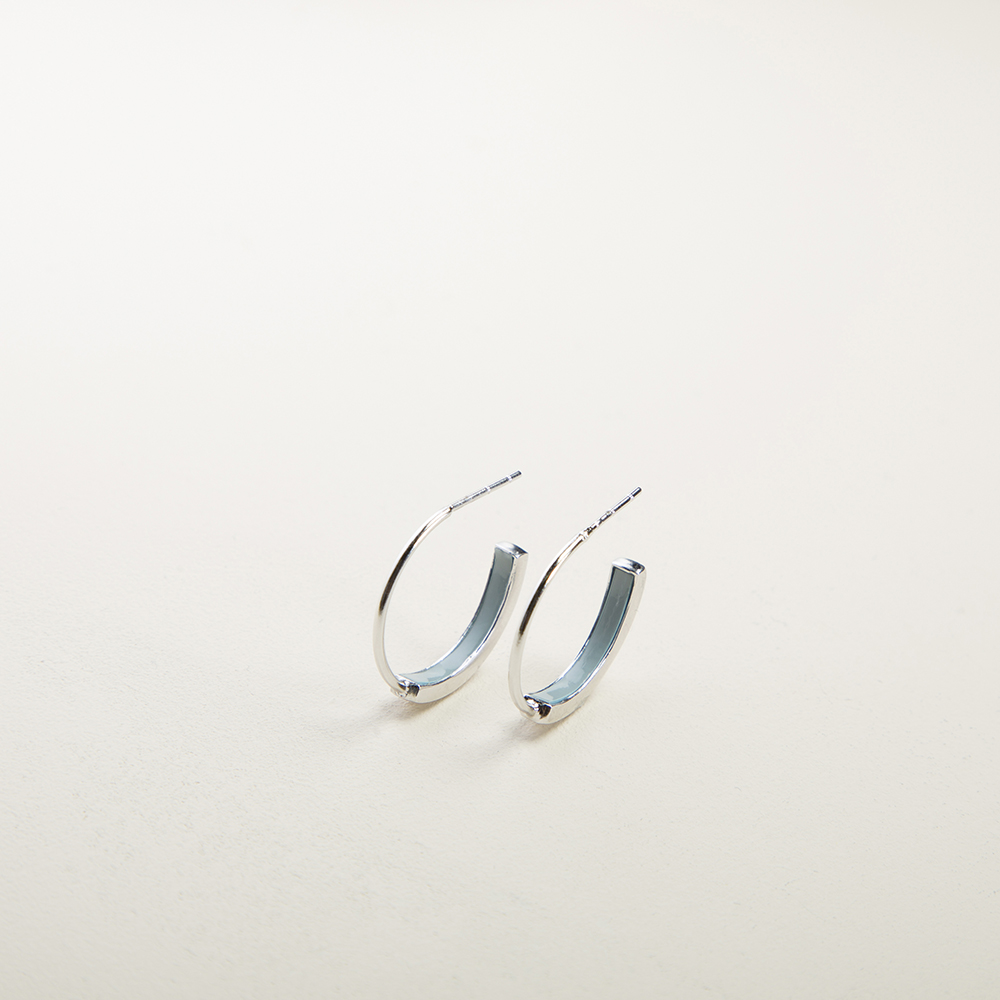 Boucles d'oreilles May Mary Blue