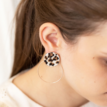 Boucles d'oreilles Andy Back to Basic