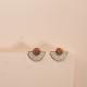 Boucles d'oreilles Agnes Optimist