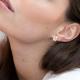 Boucles d'oreilles Audrey Optimist