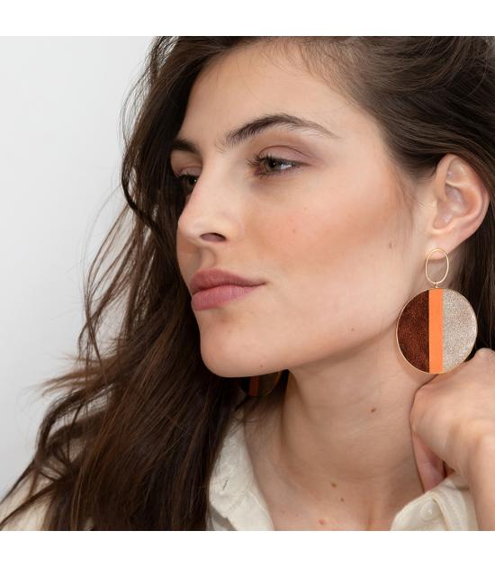 Boucles d'oreilles Olivia Optimist