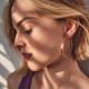Boucles d'oreilles Diana
