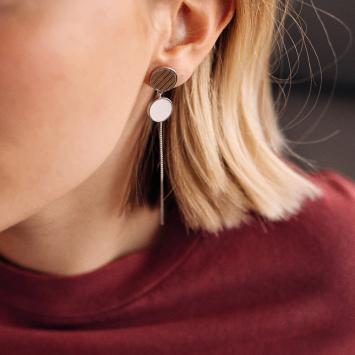 Boucles d'oreilles Els