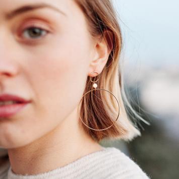 Boucles d'oreilles Gisèle