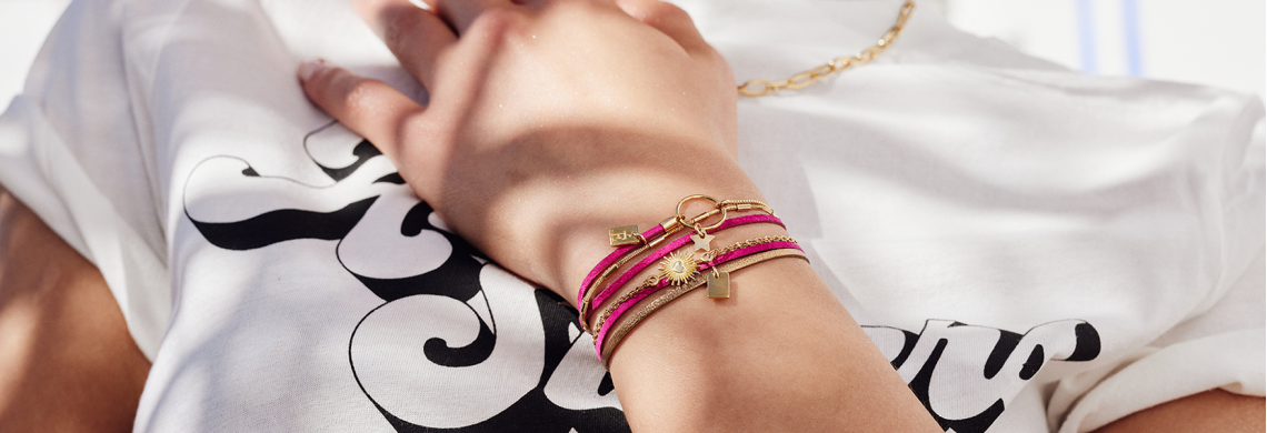 Bracelet cuir femme - bijoux cuir
