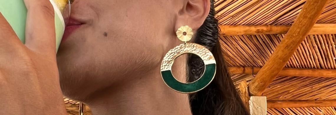 Earrings Flowersforzoé
