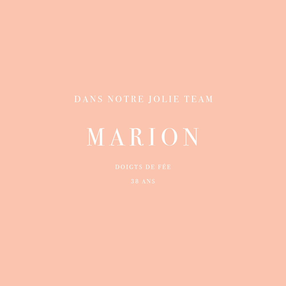 Interview de Marion