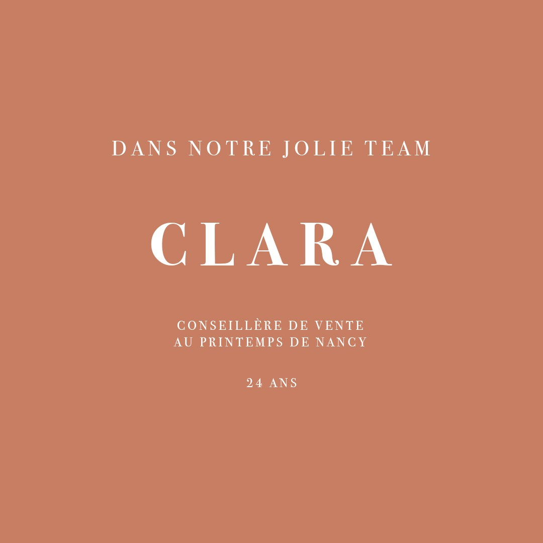 INTERVIEW DE CLARA