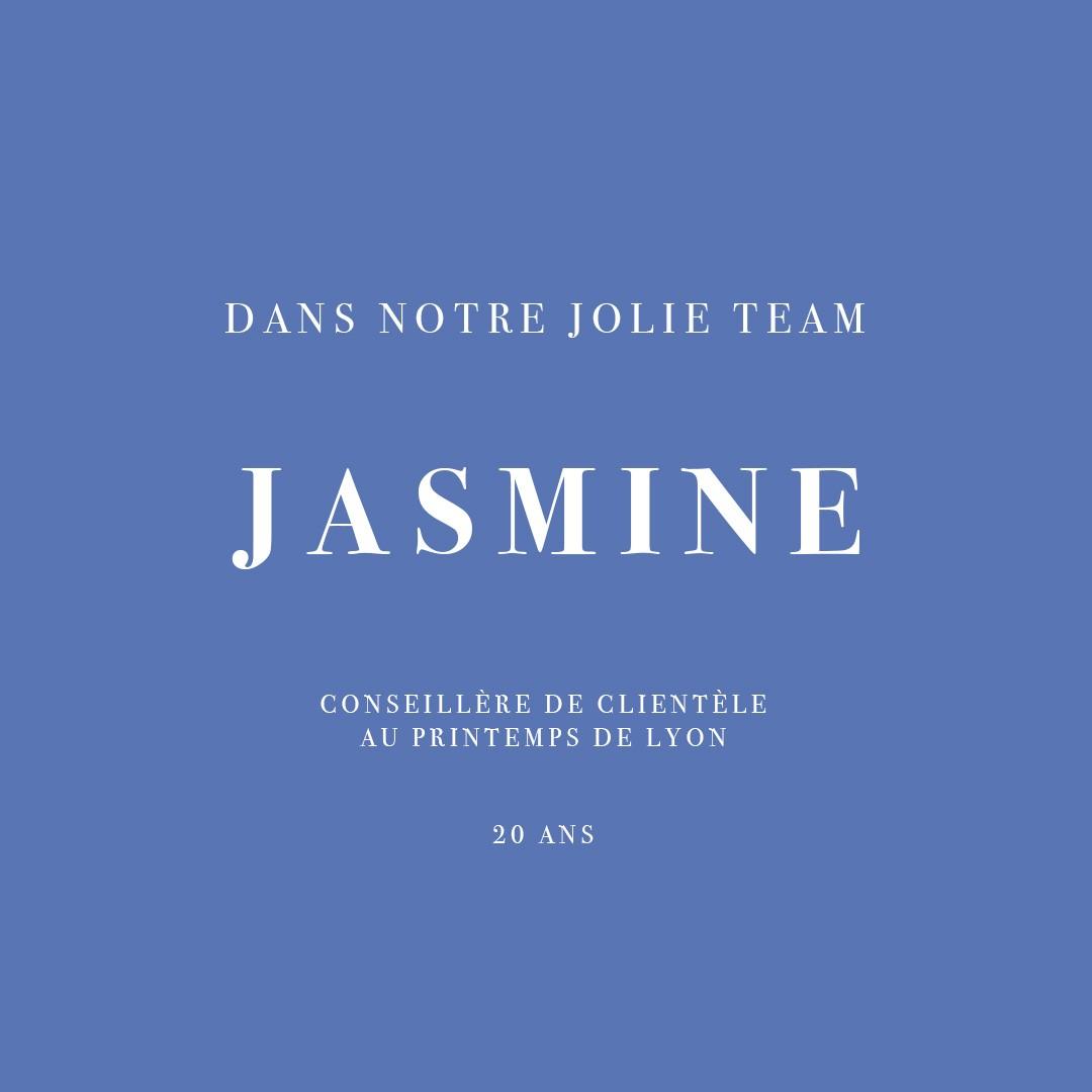 INTEVIEW DE JASMINE