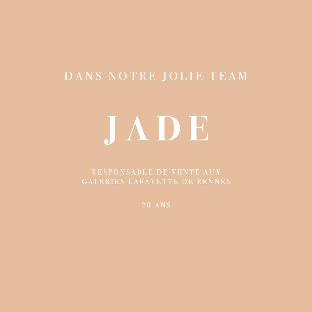 INTERVIEW DE JADE